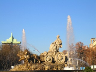 Fontaine Cibeles à Madrid