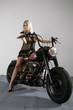 Motorrad Braut