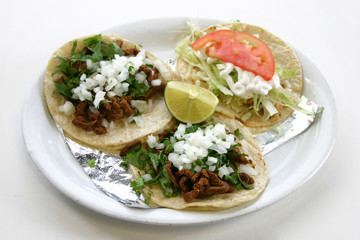 Three Tacos Plate