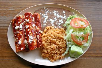Enchiladas Plate