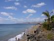 canvas print picture - Playa Grande in Puerto del Carmen - Lanzarote
