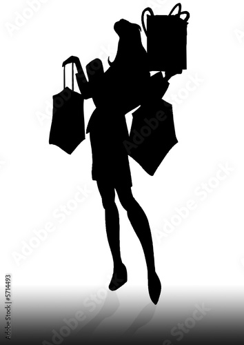 Lady shopper