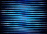 Zigzag in Blue poster