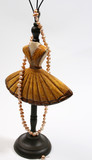 Ballerina Style Jewellery Stand with pearls poster