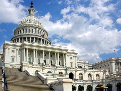 United States Capitol Building _Wide Shot