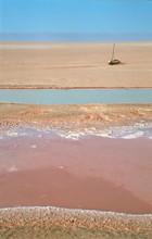 sól pustynia - Chott El Jerid - Tunezja