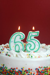 Birthday Cake - Sixty Five