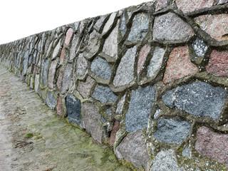 verfugte natursteinmauer II