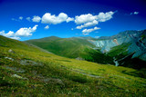 Mountain landscape, background, Altai