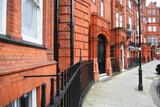 London: Houses in Kensington poster