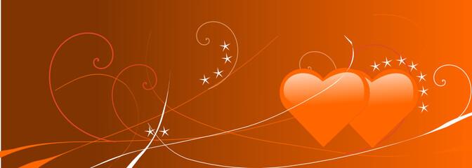 saint valentin orange