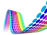 Fototapety Circles Color Rainbow
