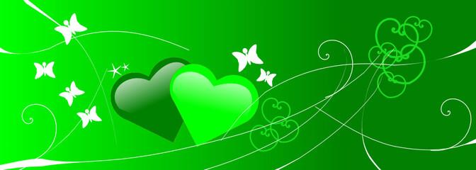 saint valentin vert