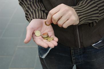 argent - pièces - monnaie - euros
