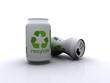 Recycle aluminium cans