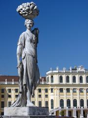 Statua a schonbrunn - Vienna