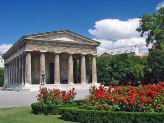 Panteon a Volksgartern - Vienna