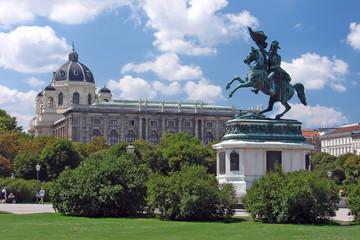 Statua di cavallo a Volksgarten - Vienna