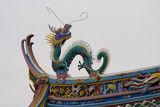 Dragon Roof Top, Taoist Temple, Fujian, China poster