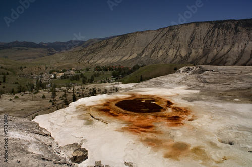 Mammoth Hot Springs Yellowstone National Park, Wyoming