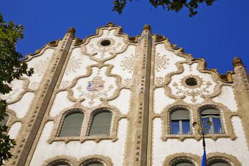 banque caisse épargne, art nouveau, budapest