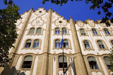 Hongrie, Budapest : caisse d'épargne