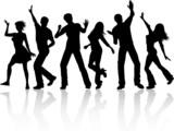 Fototapety People dancing