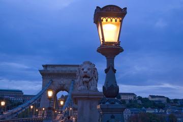pont des chaînes, budapest