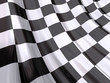 roleta: Glossy Flag of End of Race