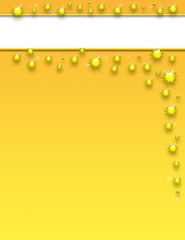 Gold Splash Template
