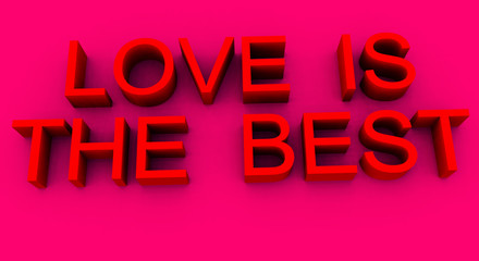Love Is the Best Word 3