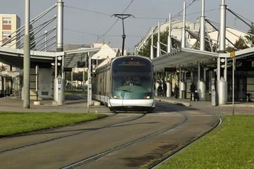 tramway à strasbourg