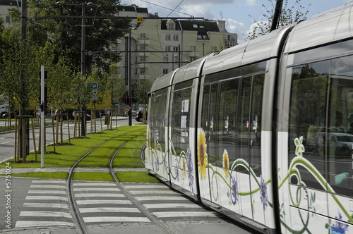 Leinwandbild Motiv tramway à strasbourg