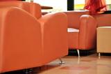 Orange furniture poster