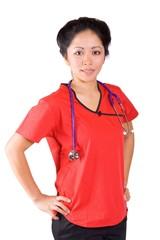 Nurse proud
