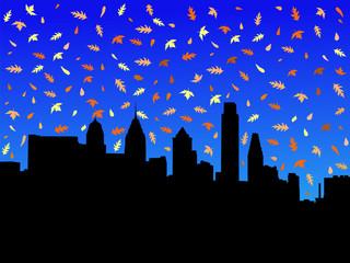 Philadelphia in autumn