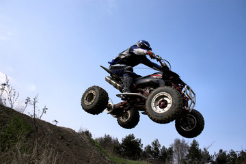 4x4 jumping