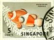 1960's Singapore stamp