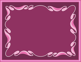 Abstract purple background with Byzantium ornament