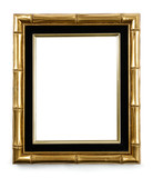 Gilded bamboo decorative picture frame