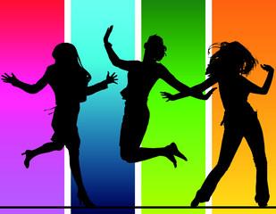 fête - filles et danse