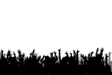 Pubblico - bianco e nero