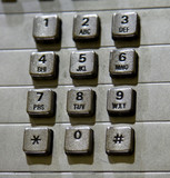 Pay Phone Keypad poster