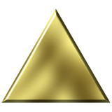 3D Golden Triangle poster