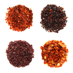 SPIECES Aleppo Flakes Urfa red-black  Sumach Red hot chilli
