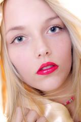sexy blonde annika
