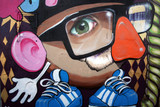 monigote en graffiti