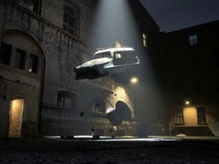 Alien abduction - recycling metaphor