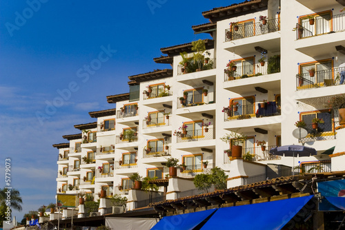 condo building from puerto vallarta marine