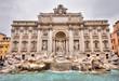 Quadro Fontana di Trevi , Roma